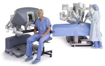 El robot quirúrgico da Vinci